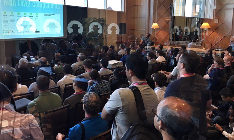 SIEMonster presents at BlackHat Arsenal to a large crowd  9e9ac61a420